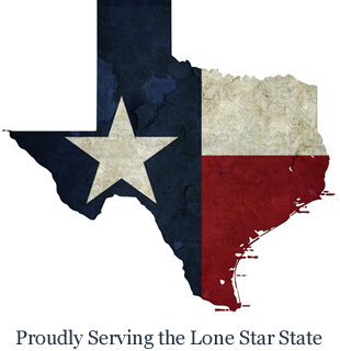 Proudly Serving Texas
